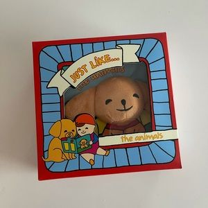 Just like animals soft baby book